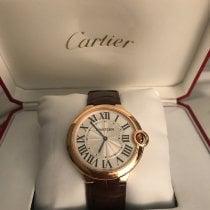 Cartier Ballon Bleu 40mm Oro rosado 40mm Plata Romanos