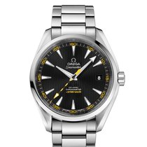 Omega 231.10.42.21.01.002 Steel 2021 Seamaster Aqua Terra 41.5mm new