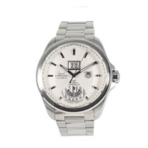 TAG Heuer Grand Carrera Staal 43mm Wit