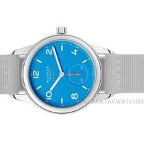 NOMOS Club Neomatik Steel 37mm Blue Arabic numerals United States of America, Florida, Aventura