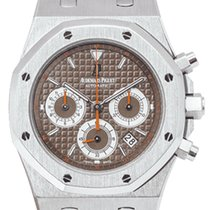 Audemars Piguet Royal Oak Chronograph Steel 39mm Brown United Kingdom, Essex