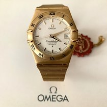 Omega Constellation Yellow gold White No numerals