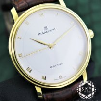 Blancpain Villeret Yellow gold 38mm White Roman numerals United States of America, New York, New York