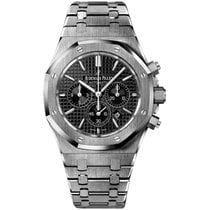 Audemars Piguet Royal Oak Chronograph Steel 41mm Black No numerals United States of America, New York, New York