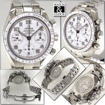 Omega Speedmaster Ladies Chronograph Acero Blanco