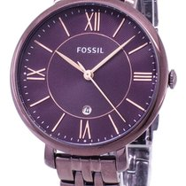 Fossil Stål 36mm Kvarts ES4100 ny