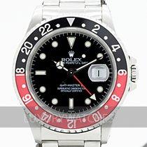 Rolex 16710 Сталь 1999 GMT-Master II 40mm подержанные