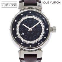 Louis Vuitton Steel 40mm Quartz Q1319 pre-owned