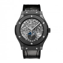 Hublot Aero Fusion Moonphase/Mondphase Black Magic
