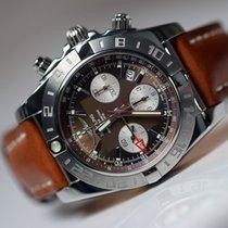 Breitling Chronomat 44 GMT Acier 44mm Noir Sans chiffres France, Thonon les bains