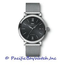 IWC Portofino Automatic Steel 40mm Black United States of America, California, Newport Beach