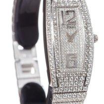 Piaget Limelight Tonneau Quartz 18K White Gold & Diamond Watch...