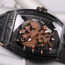 Cvstos Challenge Eagle of Russia Black PVD Steel & Black PVD...