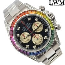 롤렉스 (Rolex) Daytona 116509 modified 116599 RBOW Rainbow white...