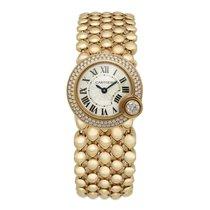 Cartier Ballon Blanc Pозовое золото 24.2mm Перламутровый