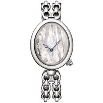 Breguet Reine de Naples Steel 32.7mm Mother of pearl No numerals United States of America, New York, NEW YORK