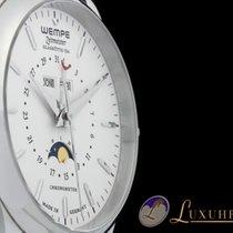 Wempe Zeitmeister Mondphase mit Vollkalender Edelstahl 42mm...