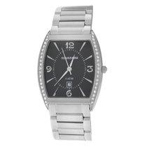 Tourneau Authentic Unisex 785 Stainless Steel Diamond 32MM Date