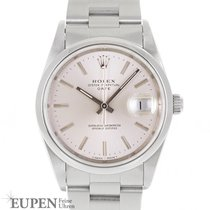Rolex Oyster Perpetual Date gebraucht 34mm Stahl