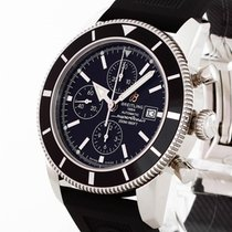Breitling Superocean Heritage Chronograph 46 Edelstahl an...