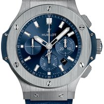 Hublot Chronograph 44,00mm Automatik 2018 neu Big Bang 44 mm Blau