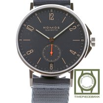 NOMOS Ahoi Atlantik Datum Steel 40mm Blue Arabic numerals