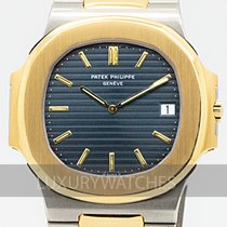Patek Philippe 3700 Gold/Steel 1989 Nautilus 40mm pre-owned