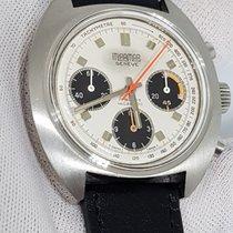 Ultra Rare Vintage Oversize Chrono Miramar Valjoux 7736 Pilo 1970 pre-owned