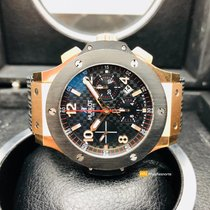 Hublot Big Bang Chronograph Rose Gold Box&Documens 2012