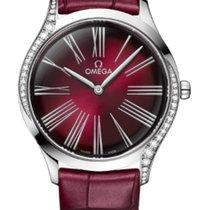 Omega De Ville Trésor neu 2020 Quarz Uhr mit Original-Box und Original-Papieren 428.18.36.60.11.001