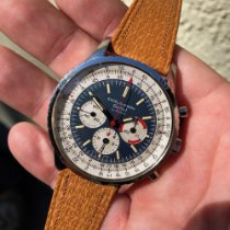Gallet Chronograph 43mm Manual winding 1960 pre-owned Blue