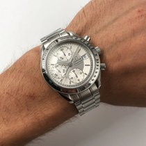 Omega Speedmaster Date Steel 39mm Silver No numerals United States of America, New York, NYC