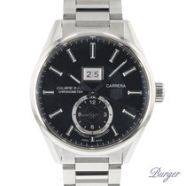 TAG Heuer Carrera Calibre 8 occasion 40.5mm Acier