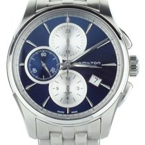 Hamilton Jazzmaster Auto Chrono Steel 42mm Blue