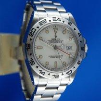 Rolex Explorer II Stahl 40mm Weiß Keine Ziffern Schweiz, Roveredo