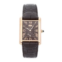 Cartier Tank Louis Cartier Rose gold 39mm Brown Roman numerals United States of America, Pennsylvania, Bala Cynwyd