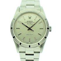 Rolex Air King Precision Stahl Silber