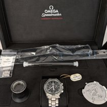 Omega Speedmaster Professional Moonwatch Steel 42mm Black No numerals Australia, Stapylton
