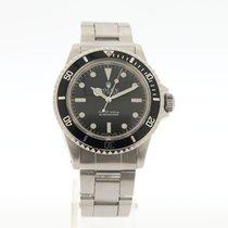 Rolex Submariner (No Date) Acciaio 40mm Nero Senza numeri