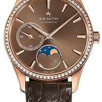 Zenith Elite Ultra Thin Rose gold 33mm Brown United States of America, Florida, Sunny Isles Beach