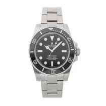 Rolex Submariner (No Date) pre-owned 40mm Black Fold clasp