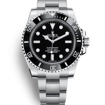 Rolex Submariner (No Date) Steel 40mm Black No numerals United States of America, New Jersey, Totowa