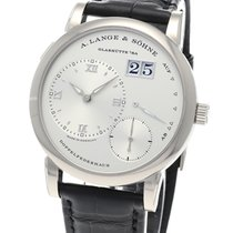 A. Lange & Söhne Ouro branco 38.5mm Corda manual 191.039 novo