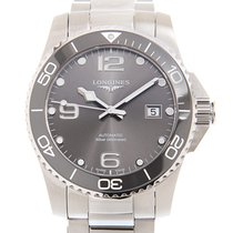 Longines Conquest Steel 41mm Grey