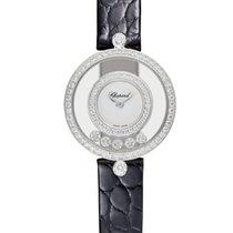 Chopard Happy Sport Icons 18K White Gold & Diamonds Ladies Watch