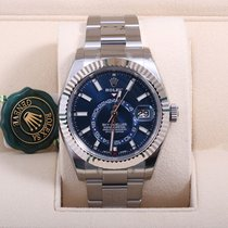 Rolex Sky Dweller Blue Dial 2017 Model  New  Box & Papers