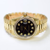 Rolex DateJust Oyster Perpetual 31mm 18K Yellow Gold Custom...