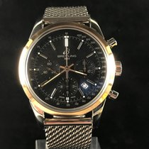 Breitling Transocean Chronograph Gold/Steel 43mm