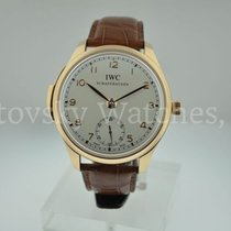 IWC Portuguese Minute Repeater Rose gold 44mm Silver Arabic numerals