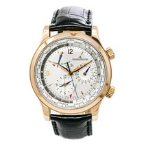 Jaeger-LeCoultre Master World Geographic Rose gold 42mm Silver Arabic numerals United States of America, New York, New York